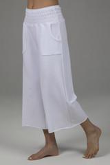 cropped boho yoga pant