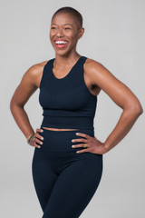 Kathryn Seamless High Neck Yoga Bra
