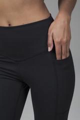 Black Pocketed Yoga Leggings Activewear
