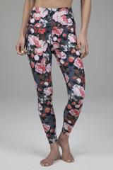 Ultra High Waist 7/8 Yoga Legging in Floral Print