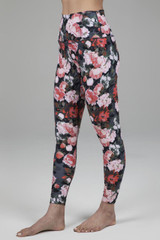 High Rise Floral Yoga Tights