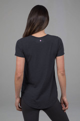 yoga top with powerdry fabric