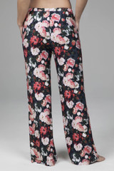 Lounge Pants in Floral Print with pockets