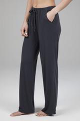 Wide Leg Lounge Pants in Phantom Grey