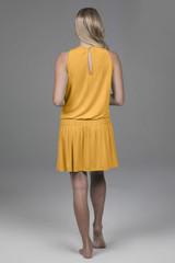 yellow yoga dress
