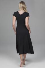 little black yoga dress
