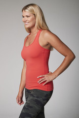 Essential Layering Tank (Coral)