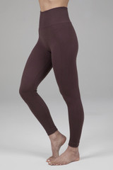 Kathryn Seamless Yoga Legging - Cocoa