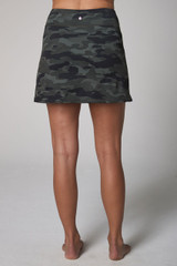 Olive Camo Back VIew Perfect Skort