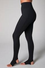 Cozy Footie Yoga Legging (Black)