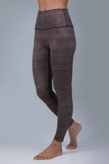 Renew Plumberry Plaid Yoga Legging