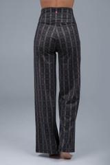 Plaid Yoga Dress Pant