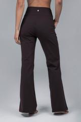 Brown Yoga Dress Pant