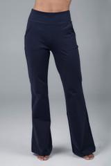 Navy Yoga Dress Pant