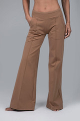Perfect Wide Leg Pant Camel