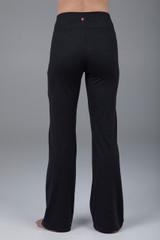 Flare bootcut black slim pant