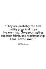 Glamour Goddess Luxe Halter Quote Customer Review