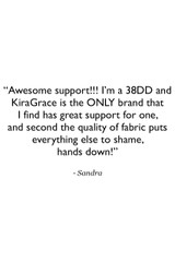 Grace Yoga Tank Customer Review Quote