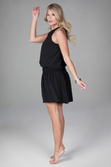 Grace Yoga Dress Sideways Walking Shot