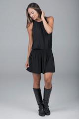grace yoga dress black
