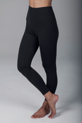 Grace Ultra High Waist 7/8 Yoga Legging (Black)