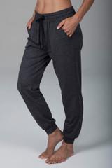 Dark Grey Drawstring Joggers with Pockets