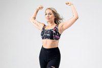 Kathryn Budig Strong Eternity Yoga Bra