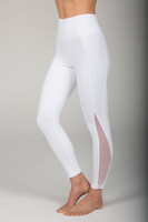 White Mesh Detailed Tight side view