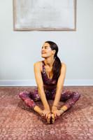 Elena Brower Moroccan Paisley Bra and Legging Set