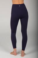 Navy Blue Grace Ultra High Waist 7/8 Yoga Legging back view
