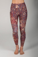 Bohemian Print High Rise 7/8 Yoga Legging front view
