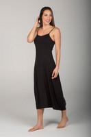 Little Black Midi Dress side view