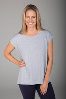 Grey Perfect Dolman T-Shirt front view