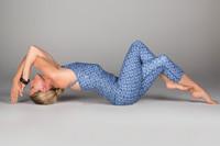 Persian Tile Crop Top and Legging Set