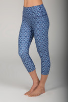 Renew Yoga Capri Legging  in Persian Tile