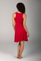 Red Hot Dress back view