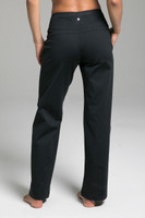 Cozy Traveler Pant (Black Cozy) back view with pockets