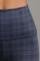 Navy and Grey Menswear Inspired Navy Glen Plaid print