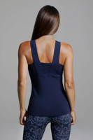 Glamour Goddess Luxe Halter thick strappy back view