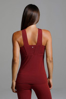Glamour Goddess Luxe Halter (Sienna) thick strappy back view