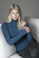 Blue Turtleneck and Wide Leg Pant Couch Lifestyle