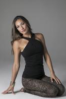 Glamour Goddess Luxe  Halter & Flirt High Waist Yoga Tight