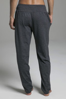 Ultra Soft Loungewear Bottoms in Grey back view