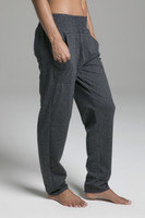 Comfortable Lounge Sweatpants with Pockets in Grey side view