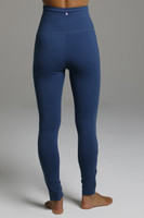 Ocean Blue Form Flattering High Waist Leggings back view