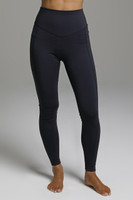 Black Yoga Tights front view