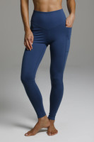 Duchess Sculpting Yoga Legging - Oceana front pocket