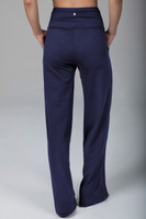 yoga pant in rich marine navy