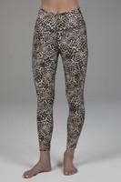 leopard print yoga legging with high waist