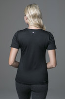 yoga t-shirt with short sleeves